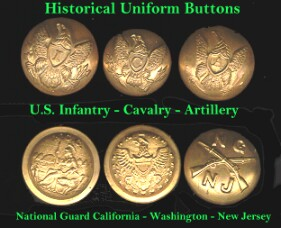 historical uniform buttons